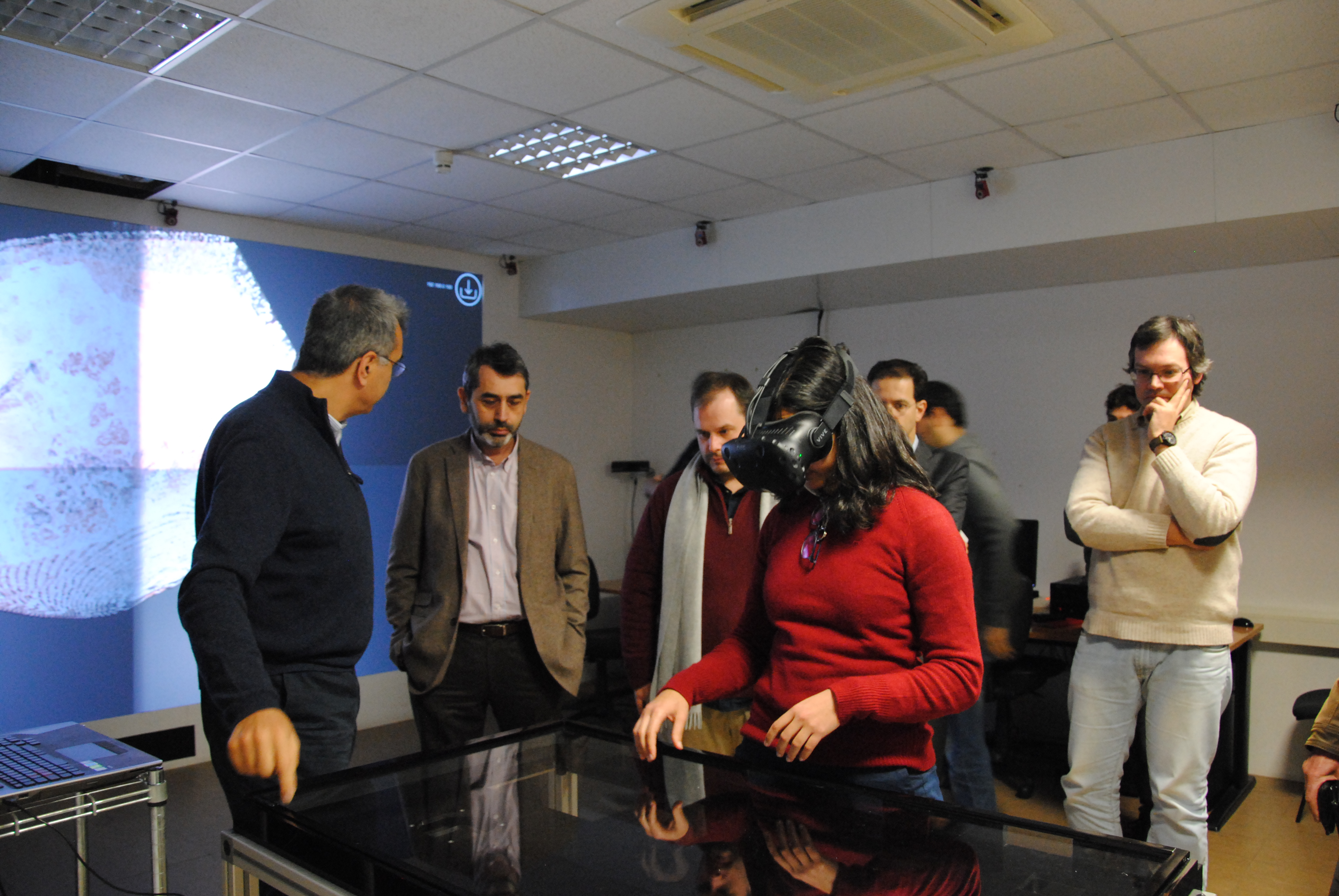 Champalimaud Foundation visits INESC-ID Taguspark