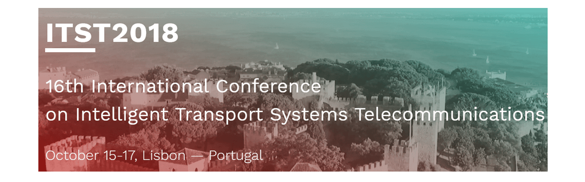 ITST 2018 – International Conference on Intelligent Transport Systems (ITS) Telecommunications