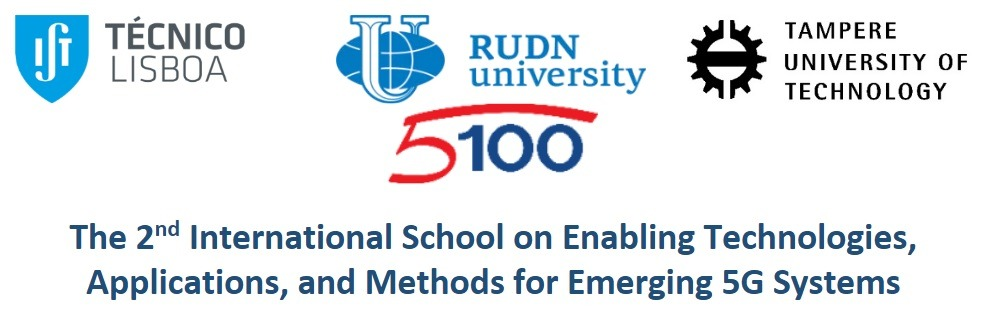 2nd International School on Enabling Technologies, Applications, and Methods for Emerging 5G Systems