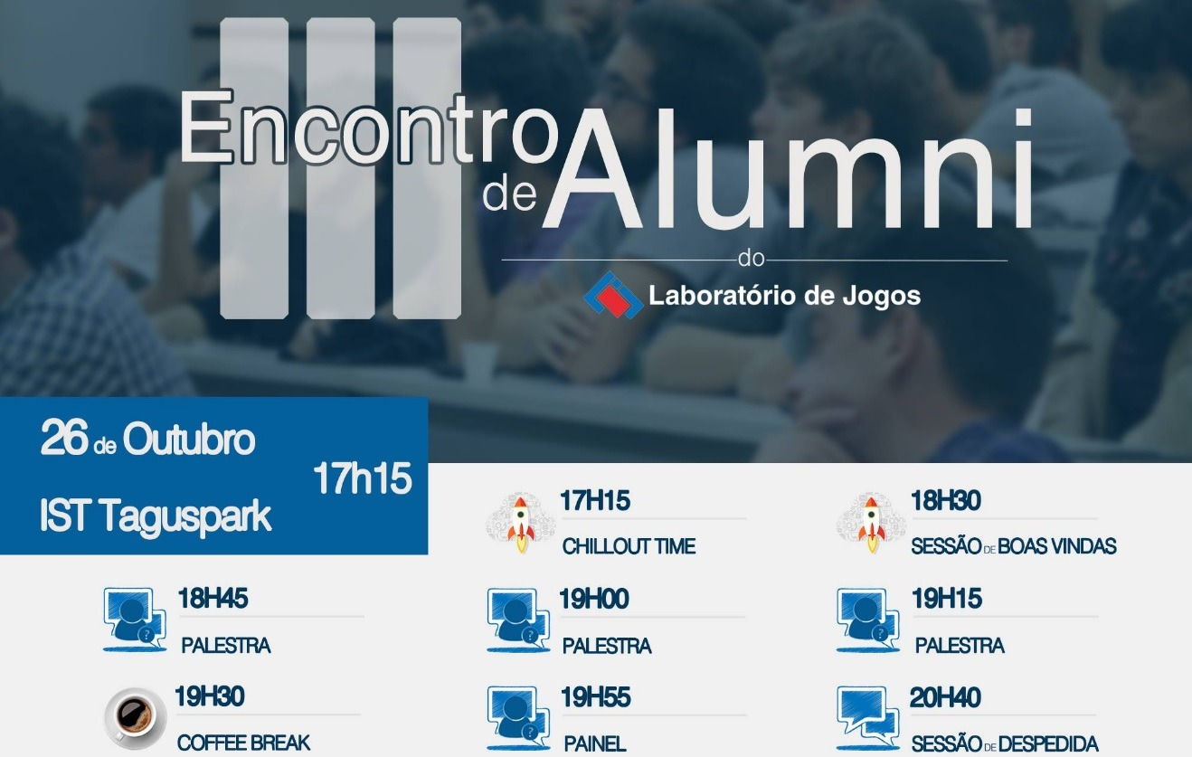 3rd Alumni Meeting of the Laboratório de Jogos of Instituto Superior Técnico