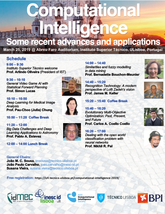 "Workshop ""Computational Intelligence: some recent advances and applications"""